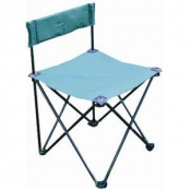 Раскладной стул со спинкой FC620-95114(SV-B204)