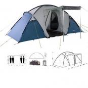 Палатка кемпинговая BARI 4+ матрас 2-х спальный в подарок