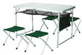 Стол для пикника раскладной + 4 стула
