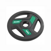 Профессиональные диски для штанг Alex TPU Color 3Hole Plate PTPUT3A