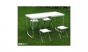 Стол для пикника + 4 стула TO-8812F