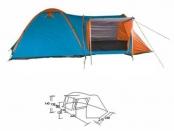 Палатка 3-х местная Family Tent SS-16-А