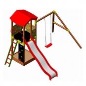 Детский игровой комплекс Wendi Toys ALISE Rose