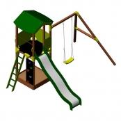 Детский игровой комплекс Wendi Toys ALISE Nature