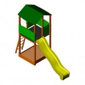 Детская игровая башня Wendi Toys ECO Basic Module