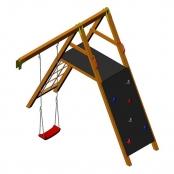 Игровая площадка для лазания Wendi Toys ECO Climb Module