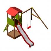 Детский игровой комплекс Wendi Toys KATRINA Rimini