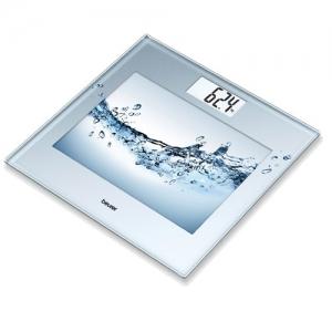 Весы напольные стеклянные BEURER GS 360 3D